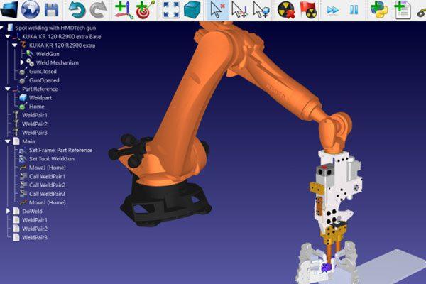 robotic calibration software
